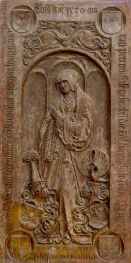 Epitaph Barbara von Watzmansdorf